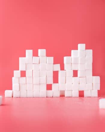 Des morceaux de sucre